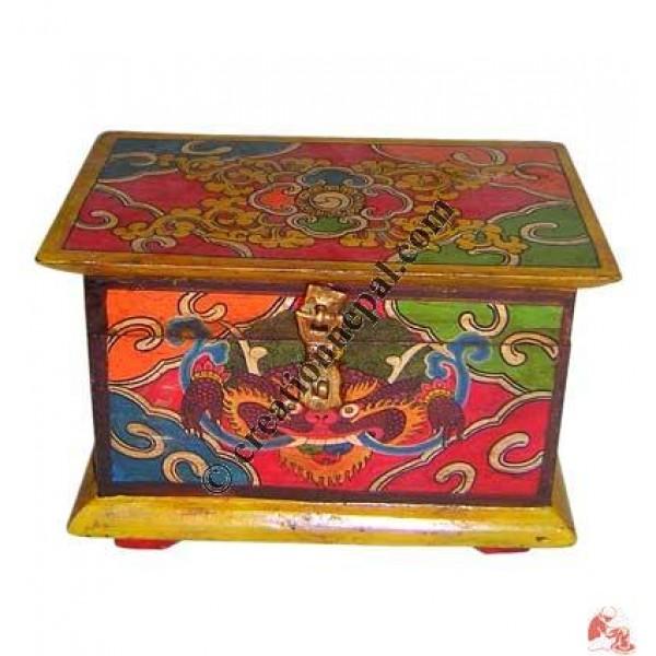 Chhepu paint wooden treasure box