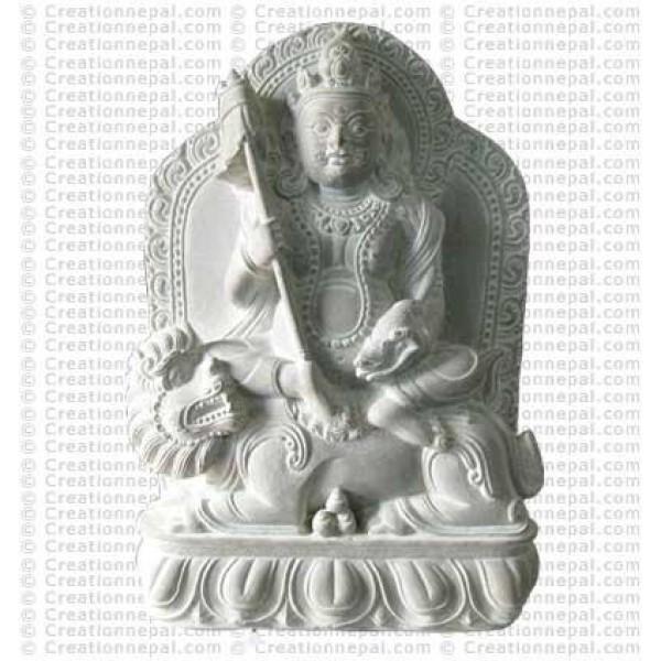 Kuber - 7.5'' stone statue