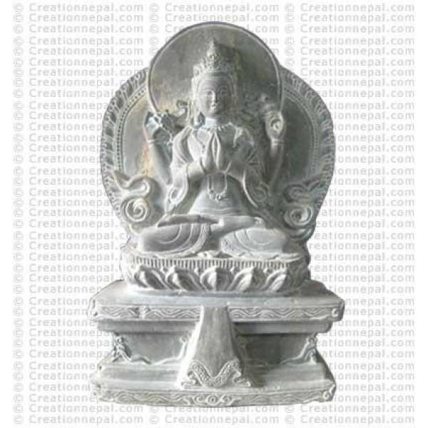 Kharcheri stone statue