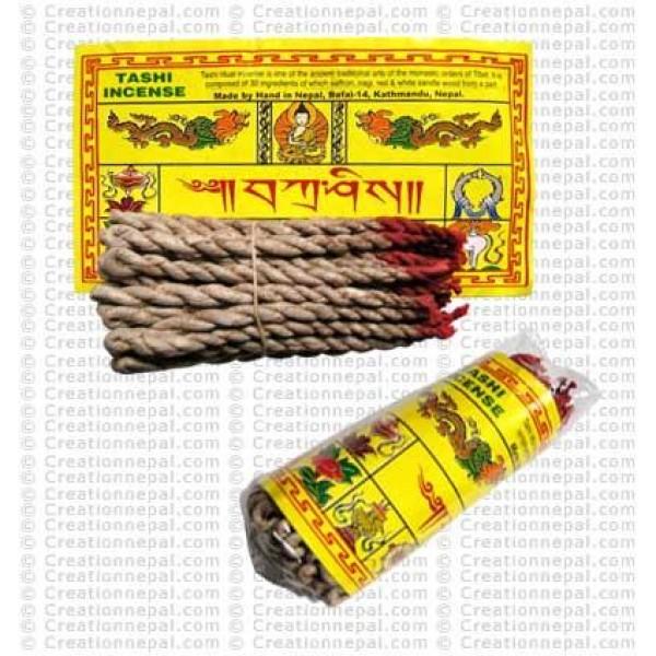 Tashi rope incense (packet of 6)