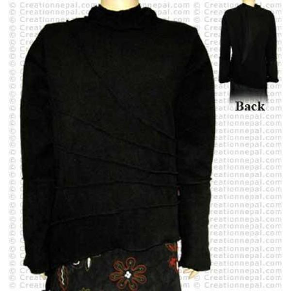 Fleece Overlock jacket
