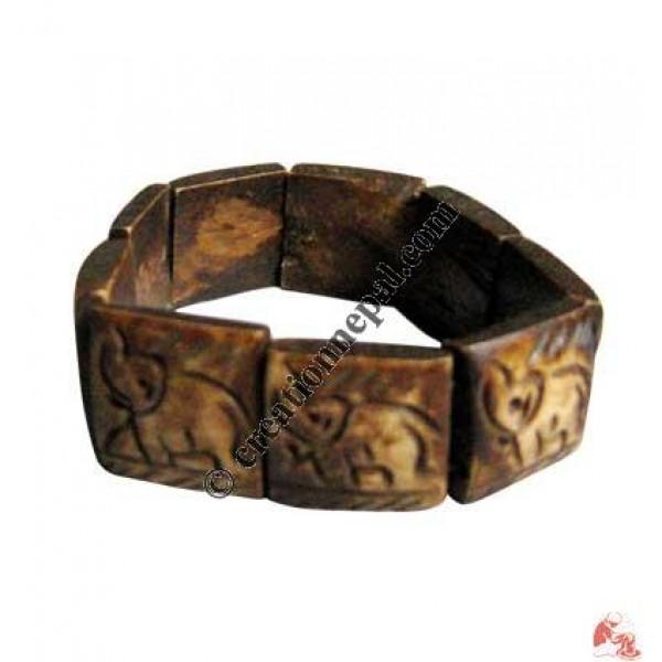 Elephant design bracelet