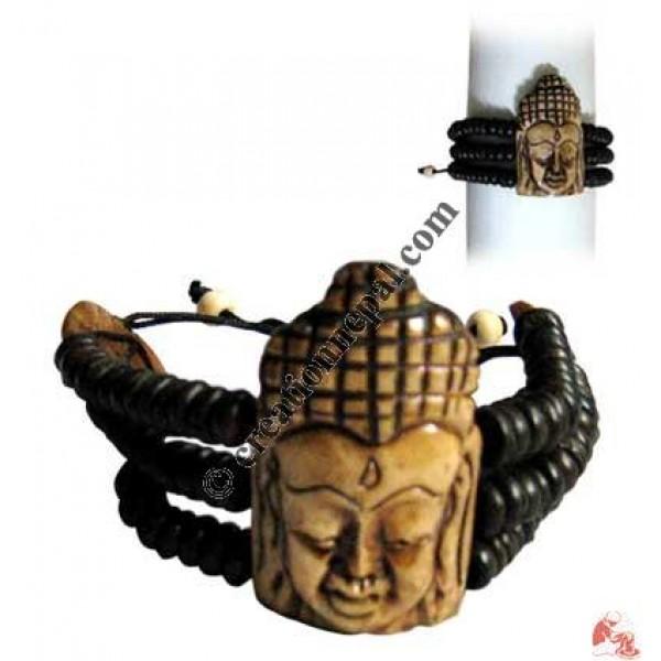 Brown Buddha bracelet