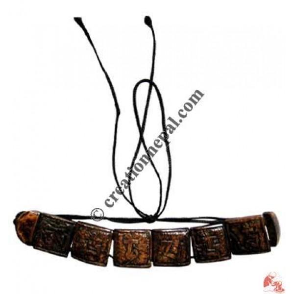 Artistic OM mane bracelet