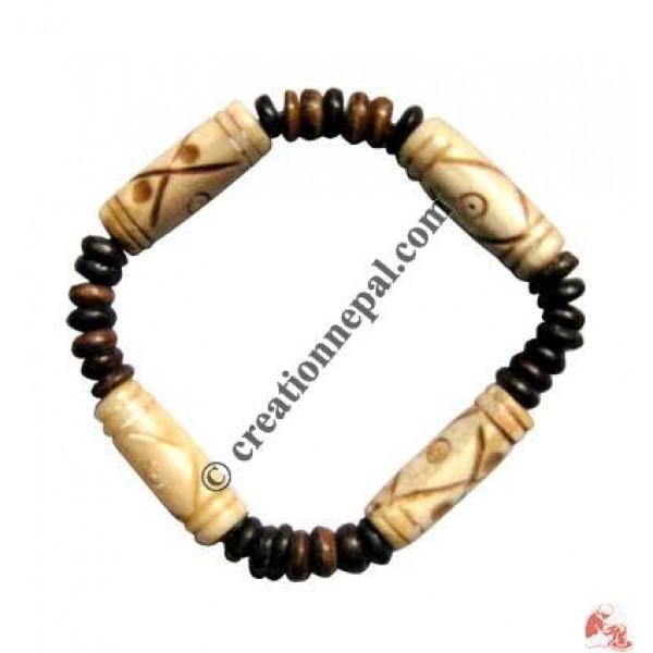 4-pipe beads wristband