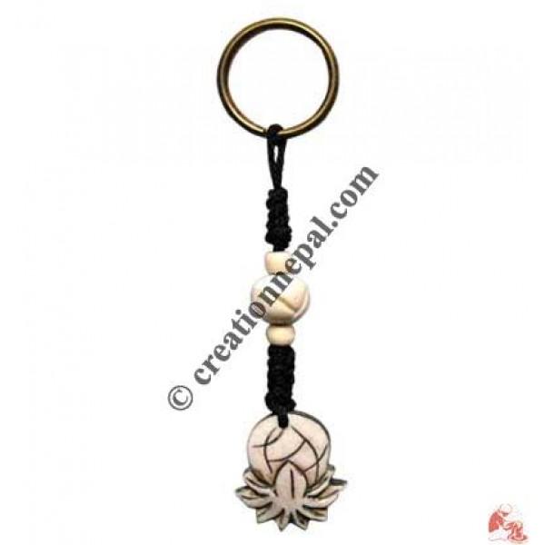 Pineapple design key ring