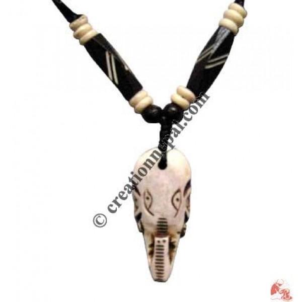 Ganesh head amulet