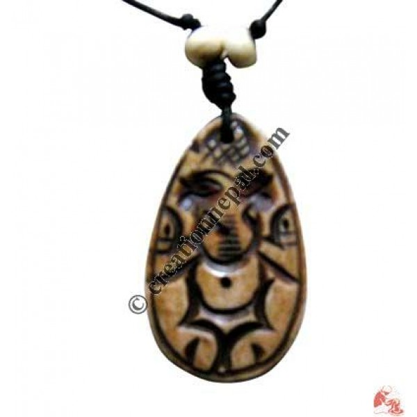 Ganesh art amulet