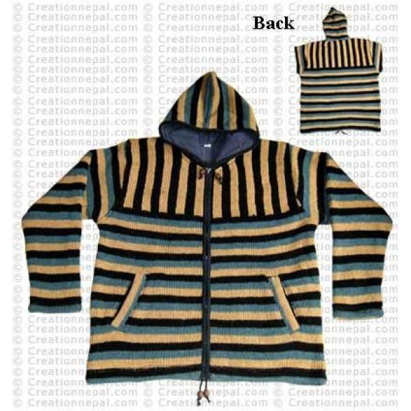2-way stripes men jacket3