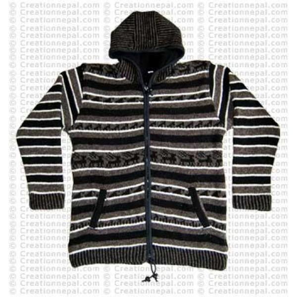 Animals design men jacket4