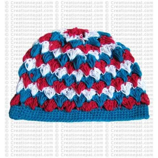 Crochet woolen cap6