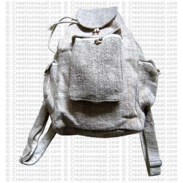 Hemp 3 pocket ruksak bag