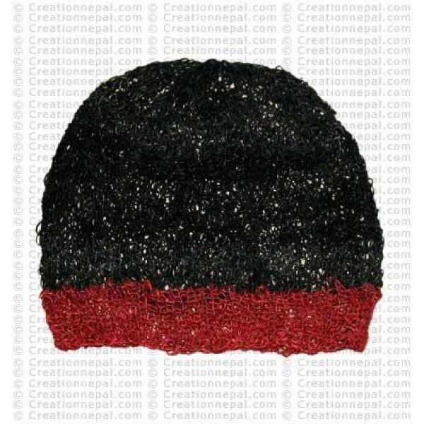 Crochet hemp cap1
