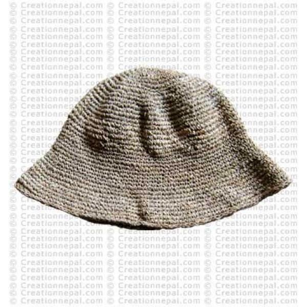 Hemp brim hat1