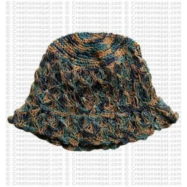 Hemp brim hat2