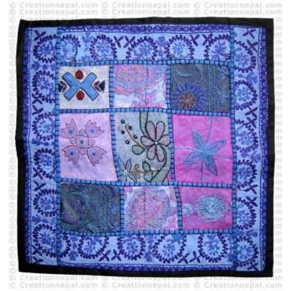 Fine-work Rajasthani cushion cover2