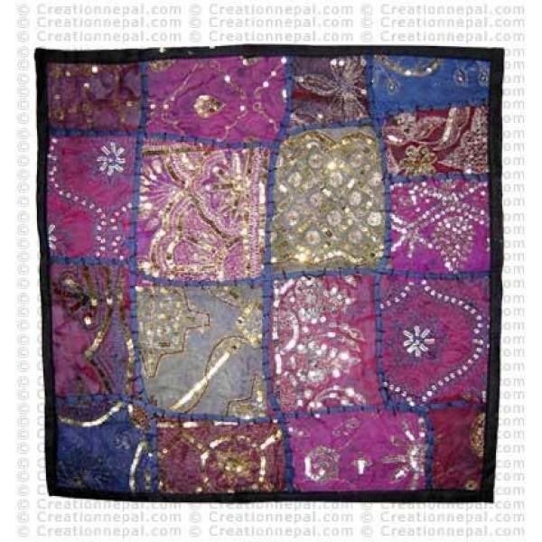 Rajasthani Jari-Sitara cushion3