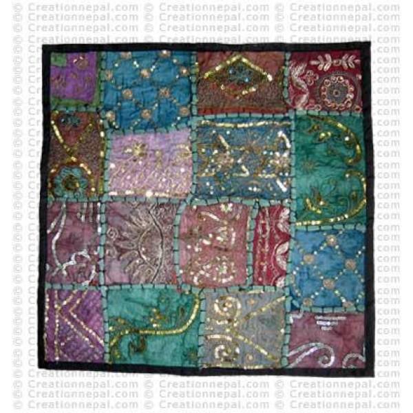 Rajasthani Jari-Sitara cushion4