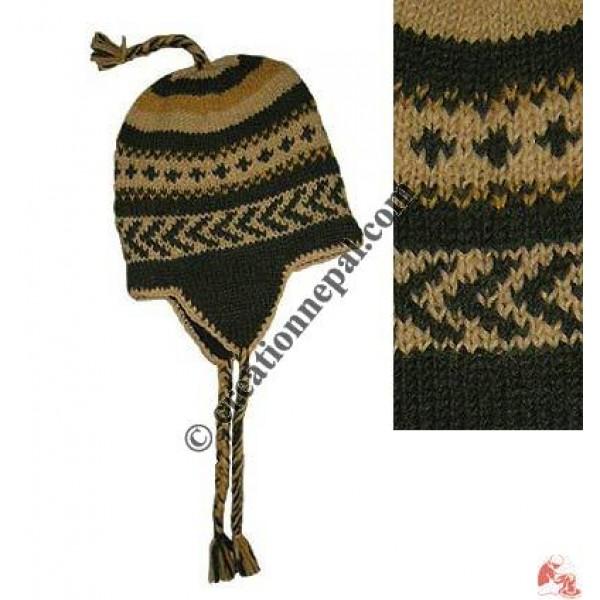 Kids woolen ear hat7