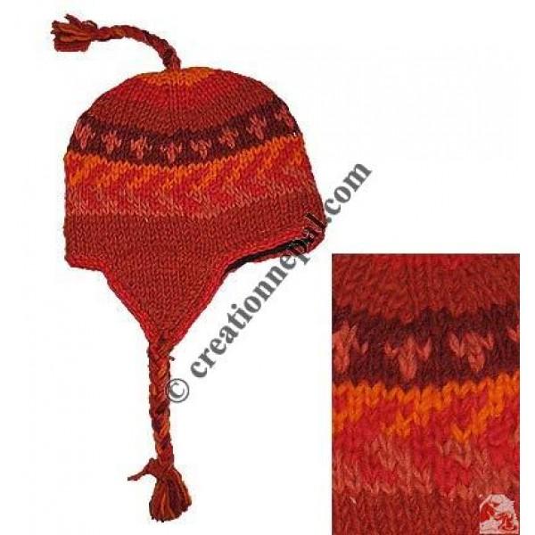 Kids woolen ear hat9