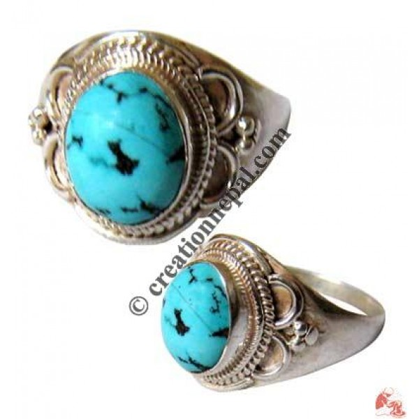 Silver-Turquoise finger ring3