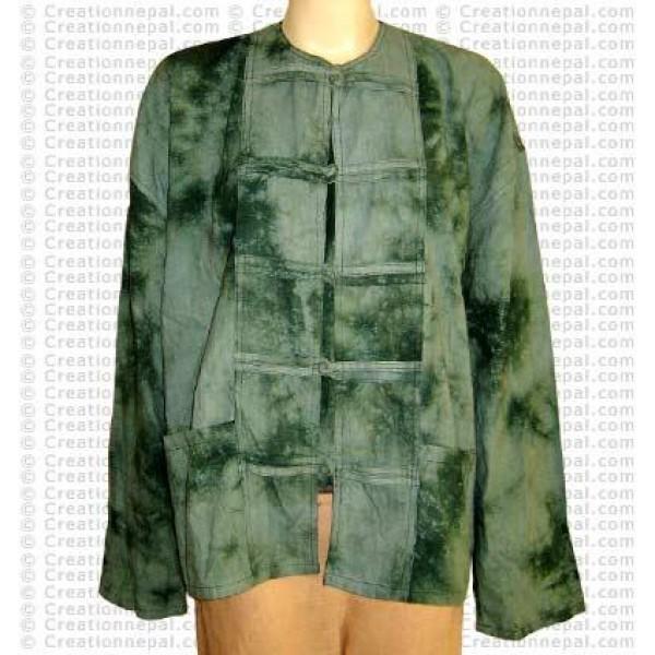 Thin cotton chinese design shirt