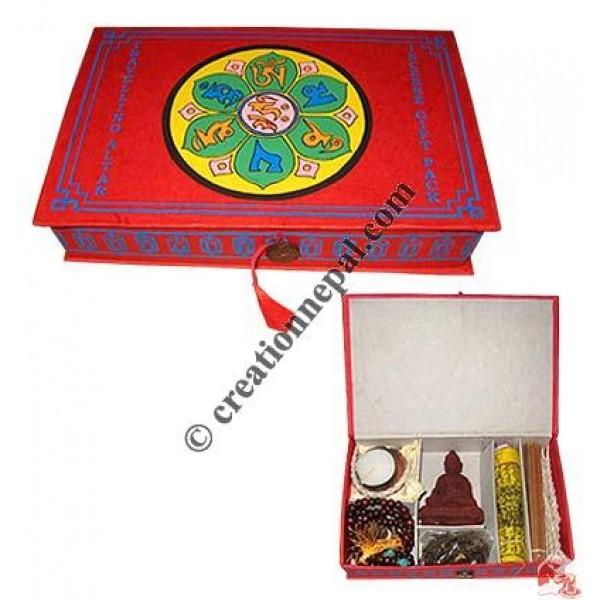 Meditation kit-Red