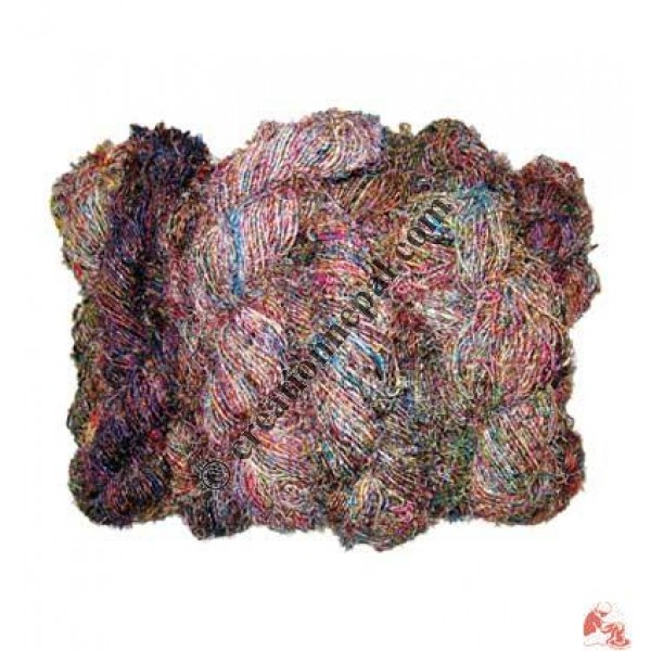 Recycled cotton and silk grade B (packet of 1 kg)