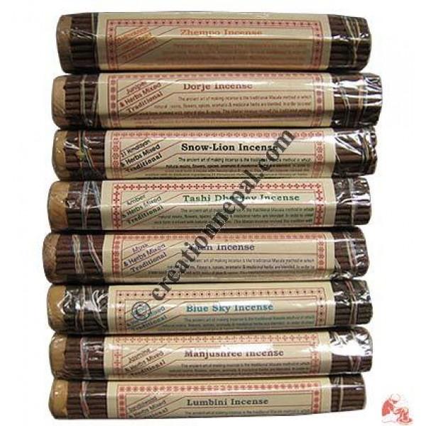 8 fragrance Tibetan incense set