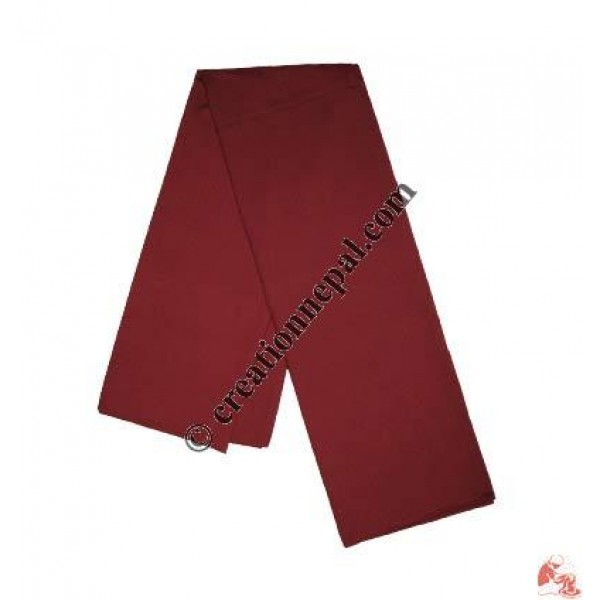 Simple cotton Monk shawl