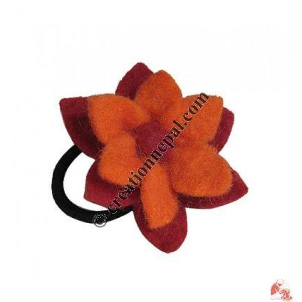 Creation nepal lotus felt flower hair band handicrafts clothing lotus felt flower hair band mightylinksfo