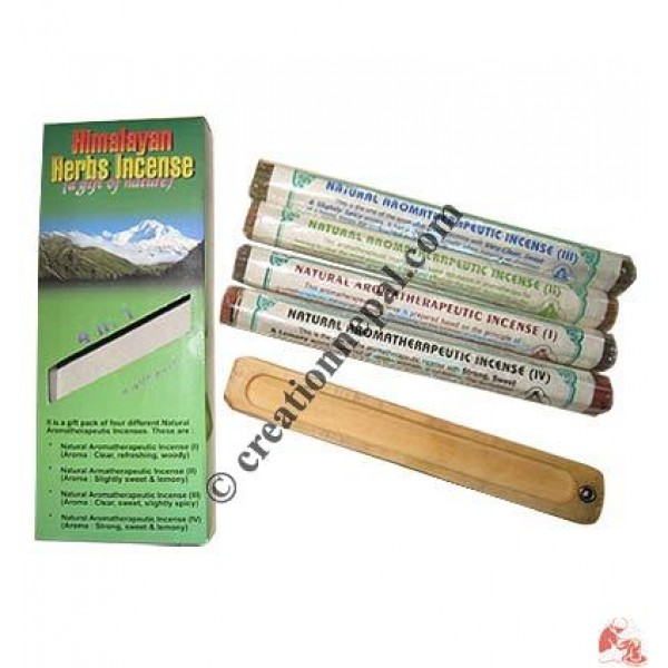 Himalayan Herbs Incense gift pack