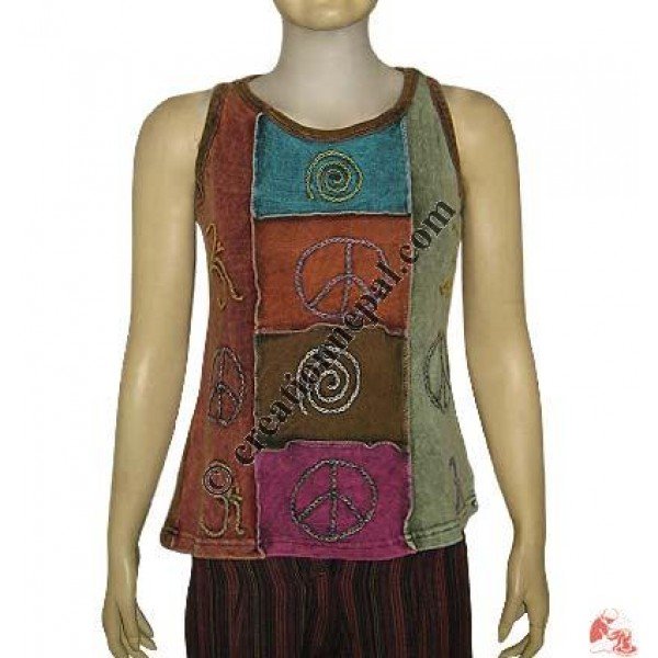 Hand embroidery designs rib top