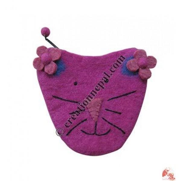 Cap shape girls purse2