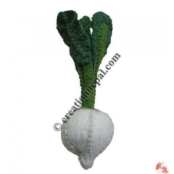 Felt turnip (set of 5)