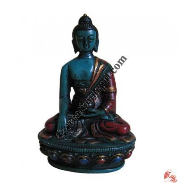 Small Buddha decorated Statue