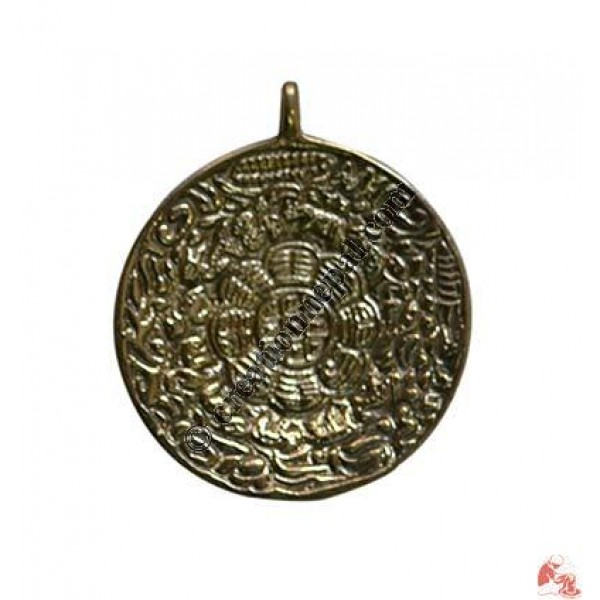 Tibetan Calendar pendent