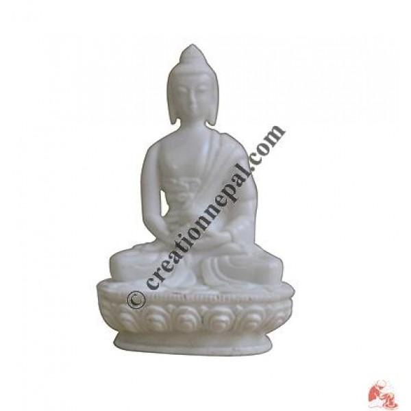 White color small Buddha