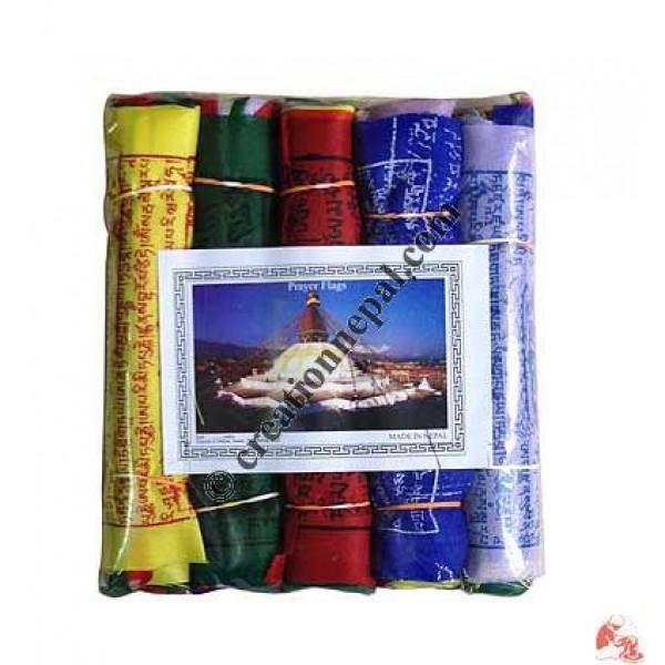 Cotton prayer flag15 (rolls of 5)