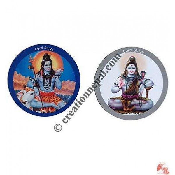 Lord Ganesh Shiva fridge magnet