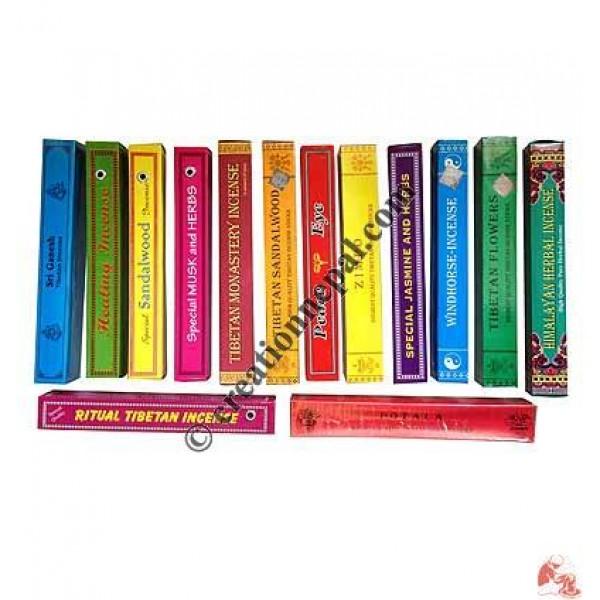 8 inch natural incense (box of 56)