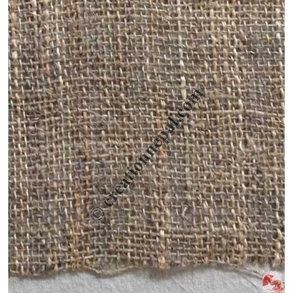 Hemp net coarse natural fabric