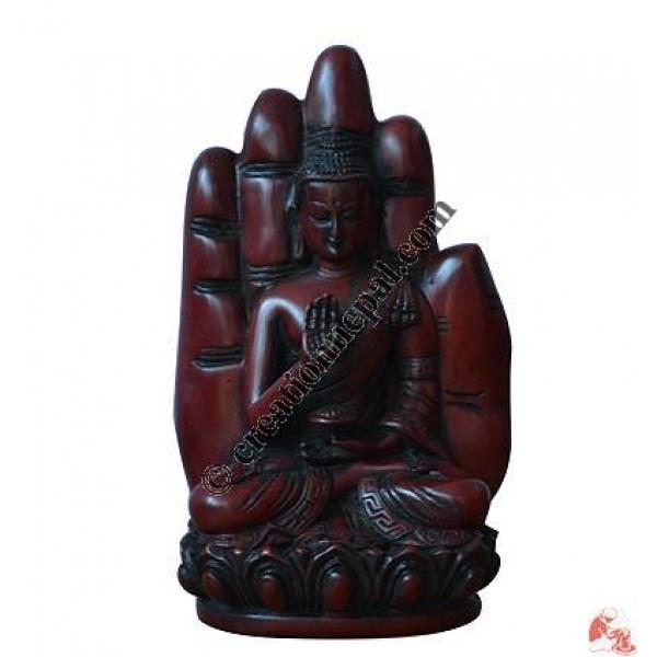 Resin small blessing Buddha
