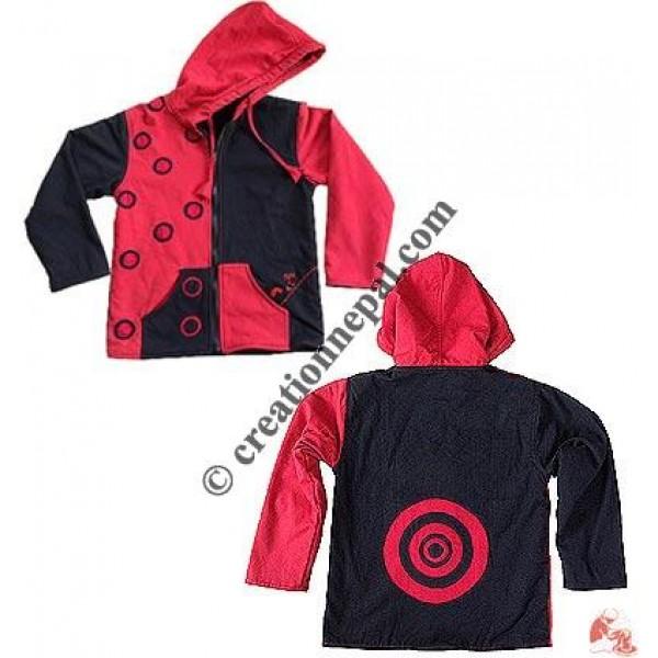 Bubble-patch shyama cotton jacket