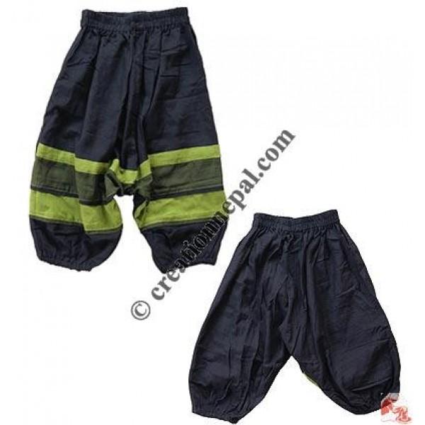 Fine cotton kids Afgani trouser2
