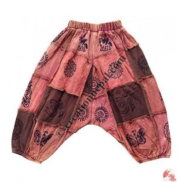 Sinkar patch-print kids trouser