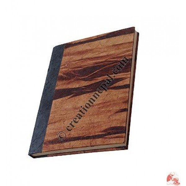 Tie-dye hard cover small notebook