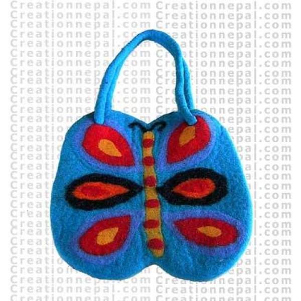 Felt butterfly bag 22