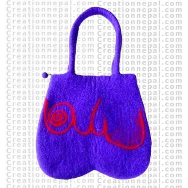 Felt bag art design 54