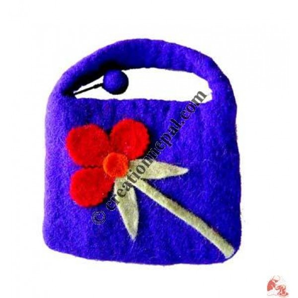 Felt evening small bag 66